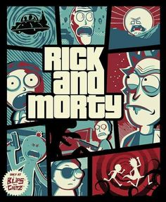 Rick And Morty – Gta Digital Art by Rick And Morty – Wunderbare Kunst Rick And Morty Image, Rick I Morty, Rick And Morty Quotes, Rick And Morty Poster, Funny Phone Wallpaper, Cartoon Wallpaper, Gaming Wallpapers, Animes Wallpapers, Pintura Hippie