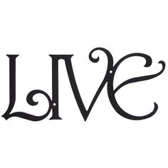 Wrought Iron Wall Art Featuring 'Live' Design - A Uniquely Inspired Life Wrought Iron Wall Decor, Metal Wall Decor, Metal Wall Art, Wall Art Decor, Wall Murals, Wall Text, Art Village, Love Wall Art, Metal Walls