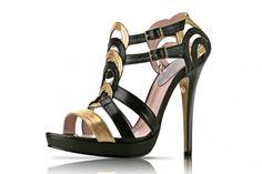 Zapatos de Fiesta Patricia Rosales. Aut�nticas obras de arte en nuestros pies.