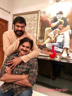 Pic Of The Day: Ram Charan Shares Pawan Kalyan With Chiru| Pawan Kalyan Birth Day Special!!