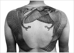 Tribal tattoos are a mix of ancient folk styles, vivid imagery, symbolism and militancy. A tribal tattoo really is one of the most traditional and classic designs. Tribal tattoos can be clear interwoven patterns or images of sacred animals. Great Tattoos, Beautiful Tattoos, Body Art Tattoos, Tribal Tattoos, Tattoos For Guys, Tatoos, Beautiful Body, Badass Tattoos, Creative Tattoos