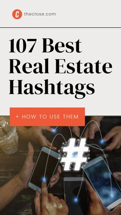 """we're going to walk you through everything you need to know about those weird """"number signs"""" in plain English, as well as go over a real estate hashtag strategy that will help you 10x your followers on Instagram, Twitter, and beyond. Jonathan Swift, Google Image Search, Popular Hashtags, Local Real Estate, Social Media Site, Real Estate Marketing, Open House, Competition, The Neighbourhood"""