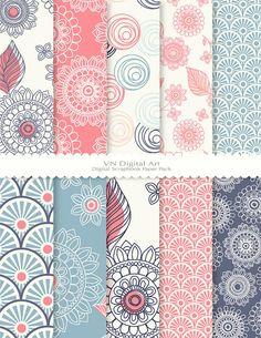 Motifs Textiles, Textile Patterns, Textile Design, Print Patterns, Flower Patterns, Surface Pattern Design, Pattern Art, Pattern Paper, Paper Design