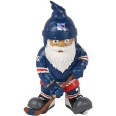 NHL New York Rangers Action Pose Gnome, via https://myamzn.heroku.com/go/B007JLVWOQ/NHL-New-York-Rangers-Action-Pose-Gnome