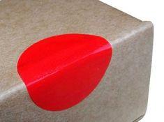 Stickery jednostronie klejące Ø 28mm