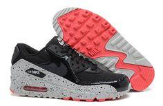 Nike Wmns Air Max 90 Black Anthracite Light Base Grey Geranium