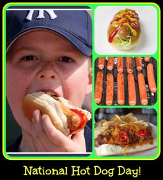 Ducks 'n a Row: It's National HOT DOG DAY!