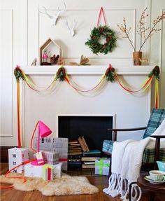 Modern Holiday - Neon & Neutrals  by Anthology Magazine  via Cake