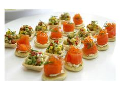 1000 images about recetas canape tapas on pinterest for Edible canape spoons
