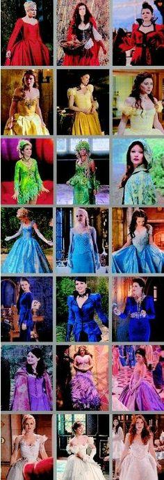OUAT's Dresses