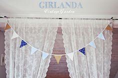 GIRLANDA marine Mały Marynarz  w Vintage Garden na DaWanda.com