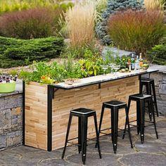 Fancy | Outdoor Planter Bar
