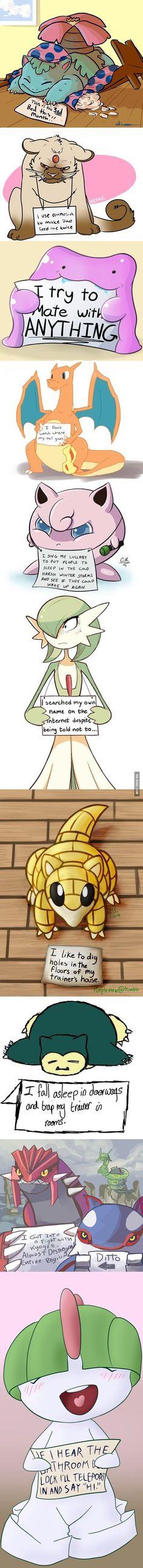 Pokemon shaming: