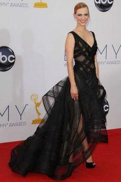 January Jones Premios Emmy 2012