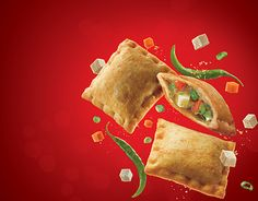 McDonalds - Chilli Paneer Pockets on Behance Chilli Paneer, Mcdonalds, Behance, Pockets, Cookies, Dishes, Christmas Ornaments, Holiday Decor, Desserts