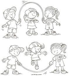 Děti - omalovánka
