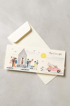 Happily Ever After Card - anthropologie.com #anthrofave #anthropologie