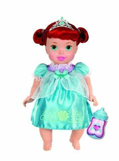 Beautiful My First Disney Princess Deluxe Baby Ariel Doll