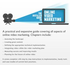 The Distilled Guide to Online Video Marketing