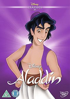 Buy Aladdin from Zavvi, the home of pop culture. Take advantage of great prices on Blu-ray, merchandise, games, clothing and more! Aladdin Y Jasmin, Aladdin 1992, Watch Aladdin, Aladdin Movie, Disney Dvd, Walt Disney, Disney Movies, Shopping, Movies