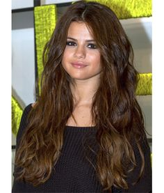 My dream hair on Selena Gomez