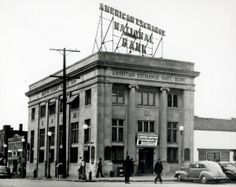 American Exchange National Bank, South Kingshighway Boulevard and Gravois Avenue. (1945) Missouri History Museum