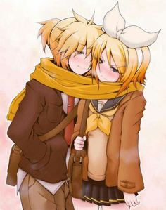 Kagamincest  CLG : lol not into that, but still a cute pic