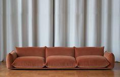 Marenco sofa by Italian Arflex, Designed by Mario Marenco 197 Interior Design Inspiration, Room Inspiration, Living Room Decor, Living Spaces, Home And Deco, Interior And Exterior, Furniture Design, Upholstery, Interior Decorating