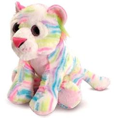 The-Petting-Zoo-Plush-Rainbow-Tiger-11-Inches
