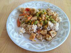Asian Hummus Tempeh Stir-fry [Hungry Hungry Hippie]