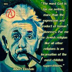 Albert Einstein about religion