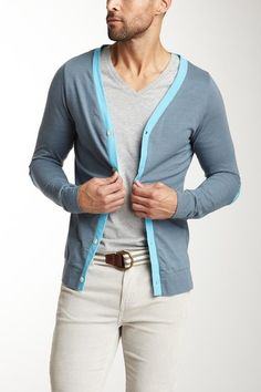 Astronomy Superior Card Cardigan by Men's Blowout on @HauteLook  Great way for a guy to wear some color
