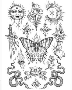 Tattoo sketches 543176405060856819 asia art gallery en beautiful design by artist sandraxstorm tag your friends share us to your source by nice sq benlii bilinen sonularla ilgili planlamalar yapmaz Flash Art Tattoos, Body Art Tattoos, Tatoos, Tattoo Flash Sheet, Girl Leg Tattoos, Tattoo Sketches, Tattoo Drawings, Art Sketches, Sketch Tattoo Design