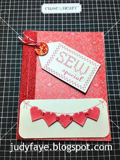 Judy Faye's Place: Stamp of the Month Blog Hop - Cross-Stich Wishes, Jan 2014