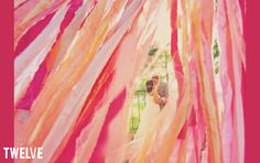 20 crepe paper wedding ideas