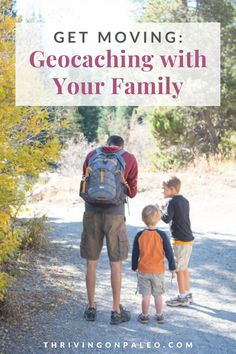 """Whether you are 2 or 102, geocaching is a fun modern day treasure hunt. It is also a very good way to get outdoors and get some exercise without actually having to """"exercise"""". Activities For Girls, Gross Motor Activities, Easy Crafts For Kids, Rainforest Activities, Our Kids, Kids Fun, Kids Moves, Outdoor Games For Kids, Get Moving"""