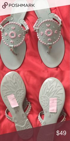 Jack rogers Georgica Jelly Sandal Accepting best offers /  accepting 🅿️🅿️ / NO TRADES Jack Rogers Shoes Sandals