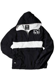 Charles River Classic Striped Pullover, Black and White #9908