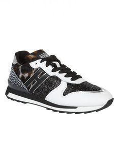 HOGAN Hogan Rebel Animal Print Sneakers. #hogan #shoes #hogan-rebel-animal-print-sneakers
