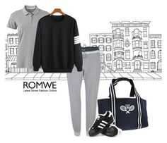 """""""A sporty afternoon"""" by longopaola ❤ liked on Polyvore featuring Brownstone, T By Alexander Wang, Chanel, adidas, women's clothing, women's fashion, women, female, woman and misses"""