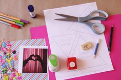 Tarjeta Estrella Scrapbook paso a paso // Star card DIY