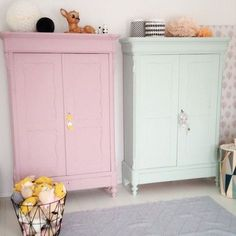 Pastel Cabinets Suggested By Arsa Baby