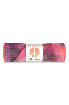 Yogitoes Groovy Skidless Yoga Mat Towel Springburst One Equipment Yoga Pictures, Tie Dye Colors, Yoga Towel, Hot Yoga, Yoga Fitness, Fitness Gear, Fitness Fashion, Fitness Style, Yoga Meditation