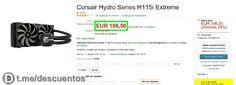 Refrigeración líquida Corsair Hydro por 106 - http://ift.tt/2sZ6jes