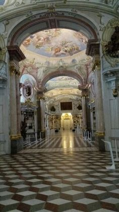 Kloster Bibliothek - Admont