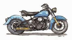 1950 Harley Panhead