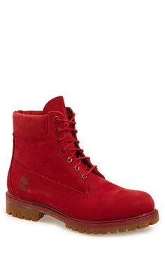 Timberland 'Red Collection' Plain Toe Boot (Men)