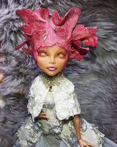 Cleo My monster high repainted doll
