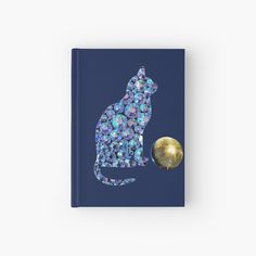 'Disco cat and disco ball' Hardcover Journal by StefaniaAlina Disco Ball, Cat Gifts, Notebooks, My Arts, House Design, Journal, Art Prints, Printed, Cats