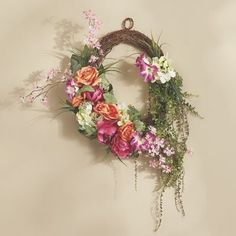 Bright Rose Wreath
